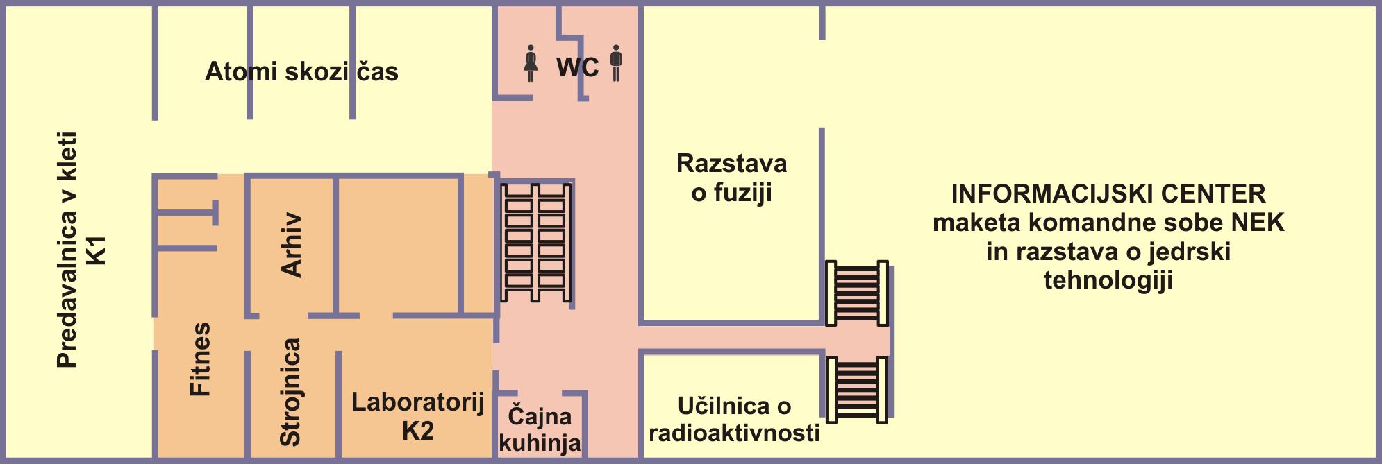 Stavba ICJT klet tloris SLO
