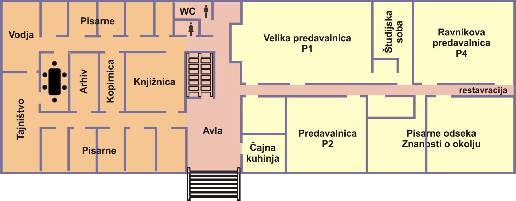 Stavba ICJT pritilčje tloris SLO