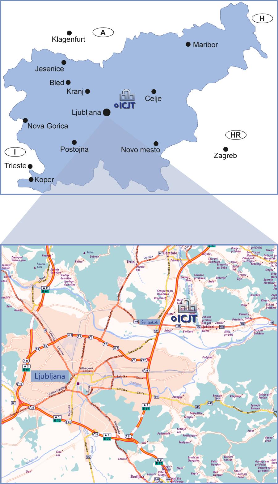 Izobraževalni center za jedrsko tehnologijo - Slovenija - Ljubljana