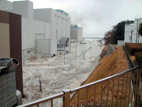 Jedrska elektrarna Fukušima Daiči - poplave