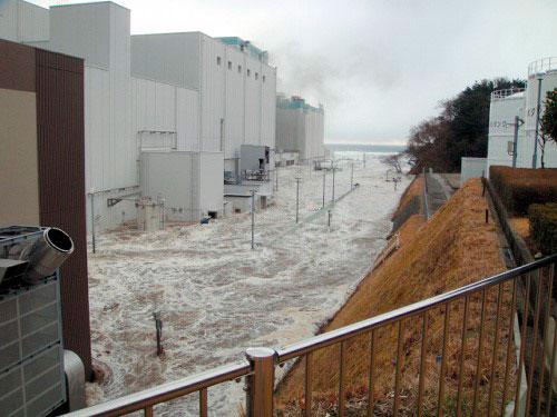 Daiichi NPP - Floods